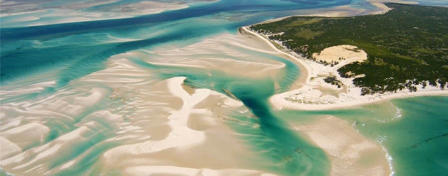 Arcipelago di Bazaruto ae la carte - Africa