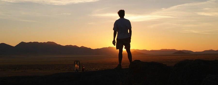 Namibia, stars and dunes