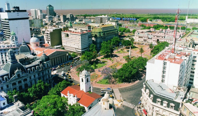 Argentina, fiumi e paludi - America latina