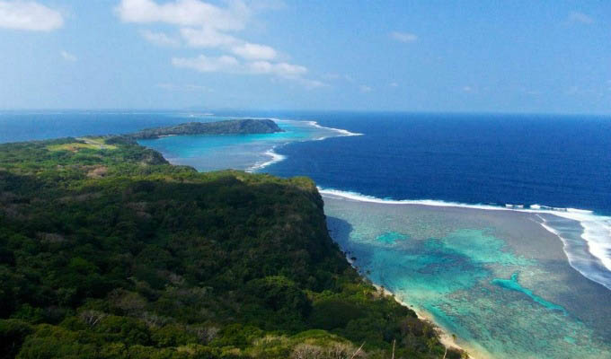 Fiji, mare a Wakaya Island