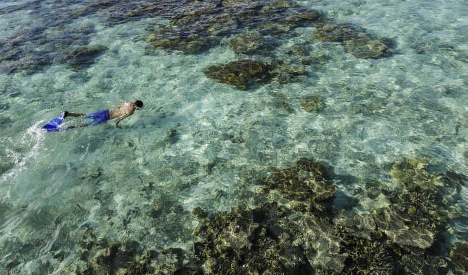 Mare alle Maldive