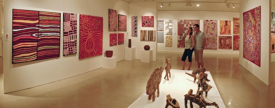 Mosaico australiano: Alice Springs