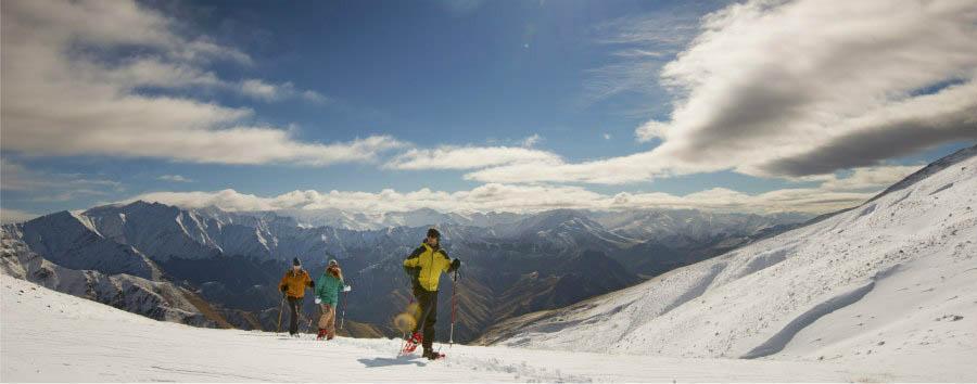 Nuova Zelanda, le Alpi del sud - Asia - pacifico